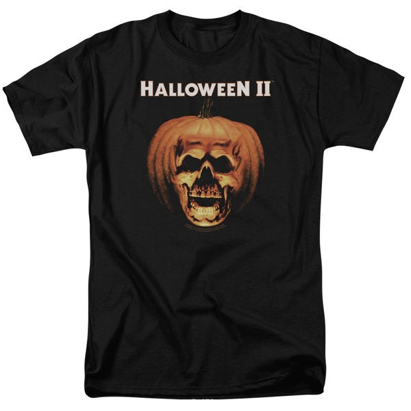 Halloween Ii/Pumpkin Shell Short Sleeve Adult 18/1 in Black