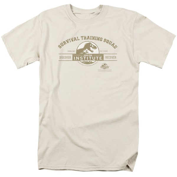 Jurassic Park/Survival Training Squad Short Sleeve Adult 18/1 in Sand