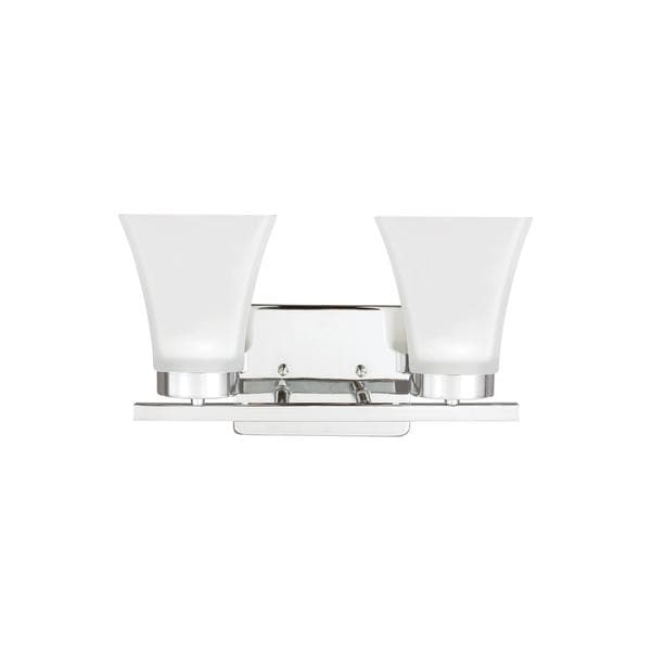 Sea Gull Bayfield 2 Light Chrome Vanity