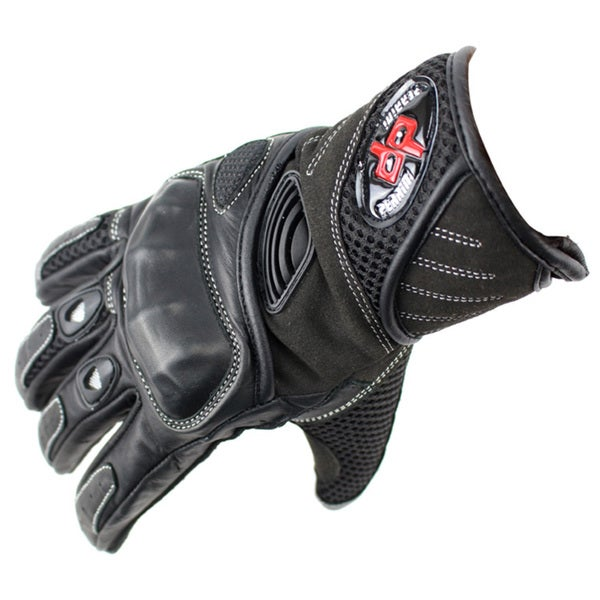 Perrini Pro Biker Motorcycle Gloves Racing Leather Motorbike Gloves with Hard Knuckles 20352114