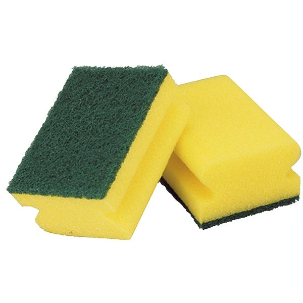 Libman 00064 Heavy Duty Scrubbers 2-count