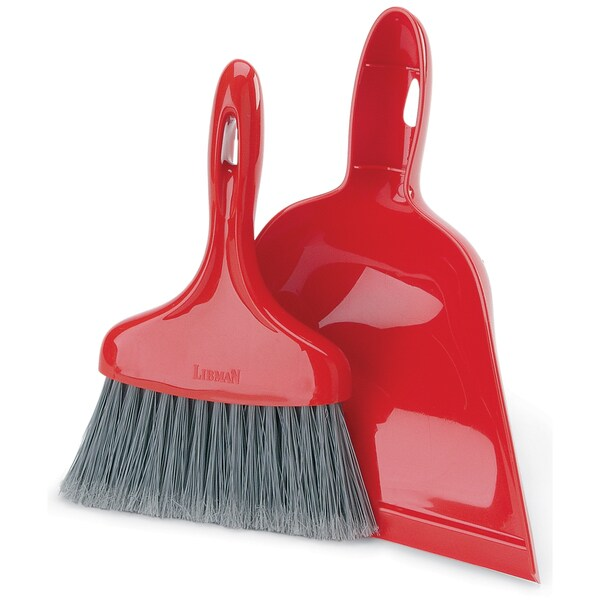 Libman 00906 Dust Pan With Whisk Broom