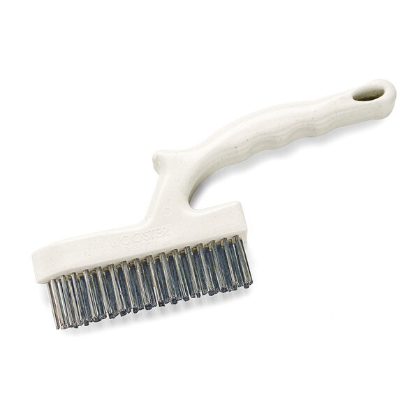 Wooster 1836 Prep Crew Stainless Steel Corner Cleaner Wire Brush