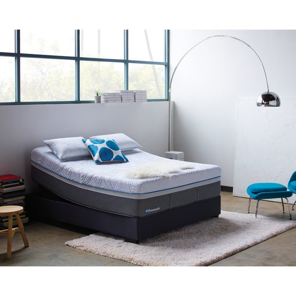 Sealy Posturepedic Hybrid Cobalt Firm Queen-size Mattress Set