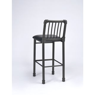 Caitlin Black Tall Bar Chairs (Set of 2)
