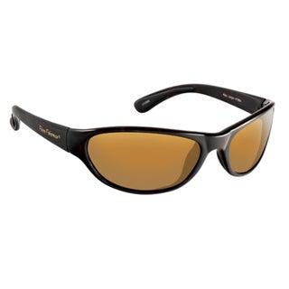 Fly Fish Key Largo Matte Black/Amber Sunglasses
