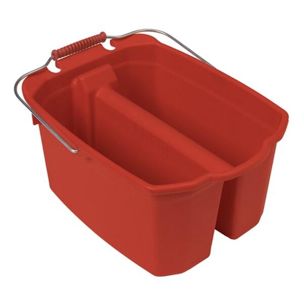 Harper 258-1 14 Quart Red Wash/Rinse Bucket