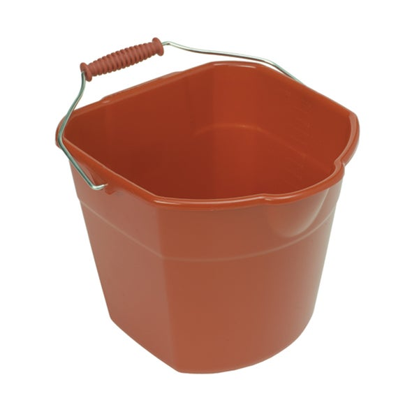Harper H268 17 Quart Red Mop Bucket