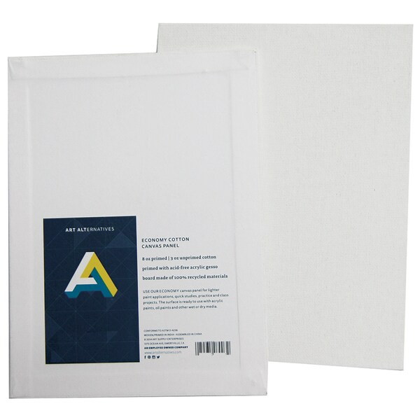"Art Alternatives AA7004 8"" X 10"" Canvas Panel"