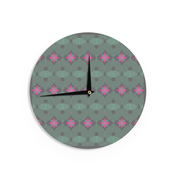KESS InHouse Mat Miller 'Electric Dreams' Wall Clock