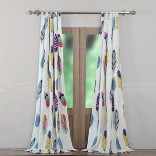 Greenland Home Fashions Dream Catcher Window Curtain Panel Pair