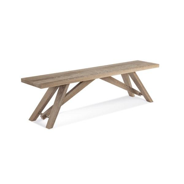 Saloom Lenox Cafe Oak 60-inch Bench