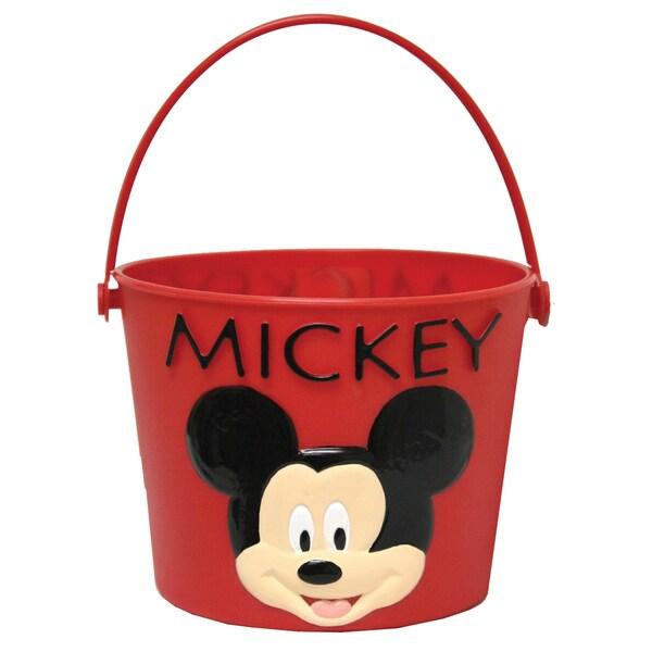 Midwest Glove MY8KF6 Plastic Mickey Mouse Kids Gardening Bucket