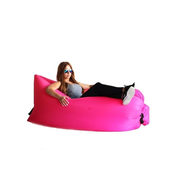 Zephyr Pink Inflatable Air Bag Parachute Couch