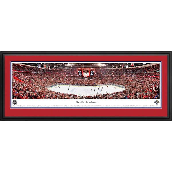Blakeway Panoramas Florida Panthers Framed NHL Print