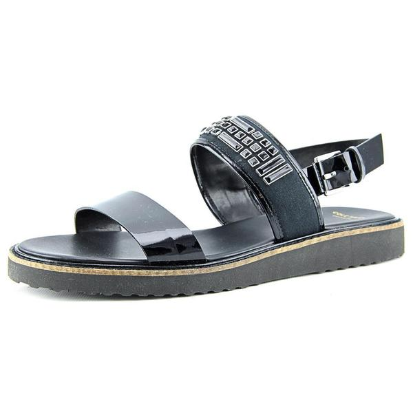 Cole Haan Women's Capri Sandal Black Patent Leather Sandals