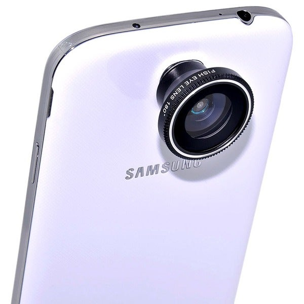 Fish-eye Wide-angle 3-piece Macro Camera Lens Kit for Apple, Samsung, and HTC Smartphones