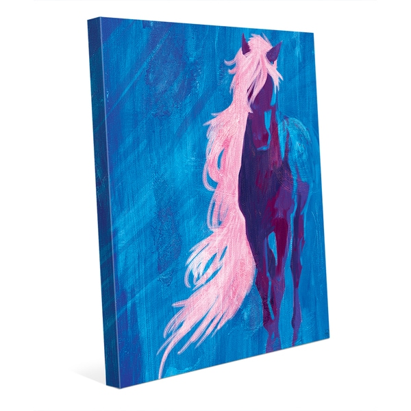 Crazy Horse Wall Art on Canvas