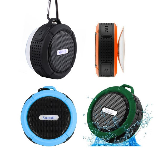 ETCBUYS Outdoor Rugged IP 67 Water-resistant Portable Bluetooth Wireless Speaker