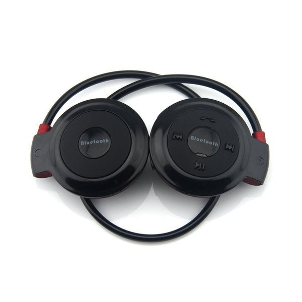 Foldable Wireless Bluetooth Stereo Headset Headphones With Built-in Mic and Controls
