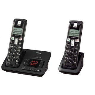 RCA 2102-2BKGA Wireless Phone Set 2-count