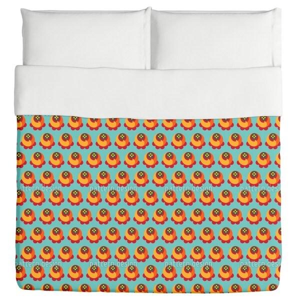 Buddy Orange Duvet Cover 20414724