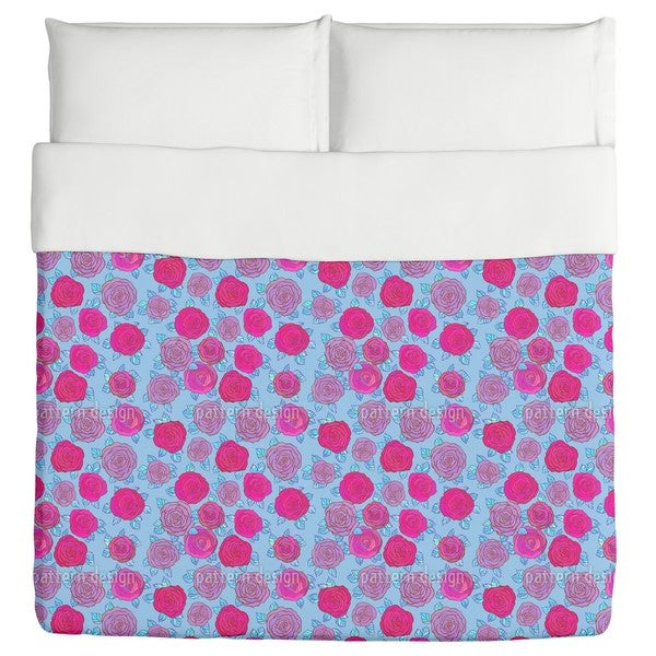 In the Rose Sky Duvet