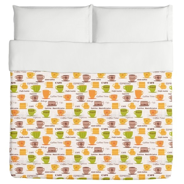 My Coffee Cups Duvet 20417387