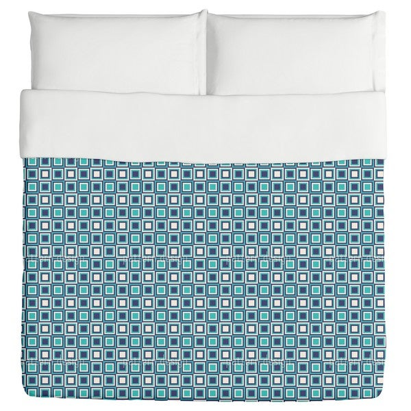 Retro Squares Are Cool Duvet