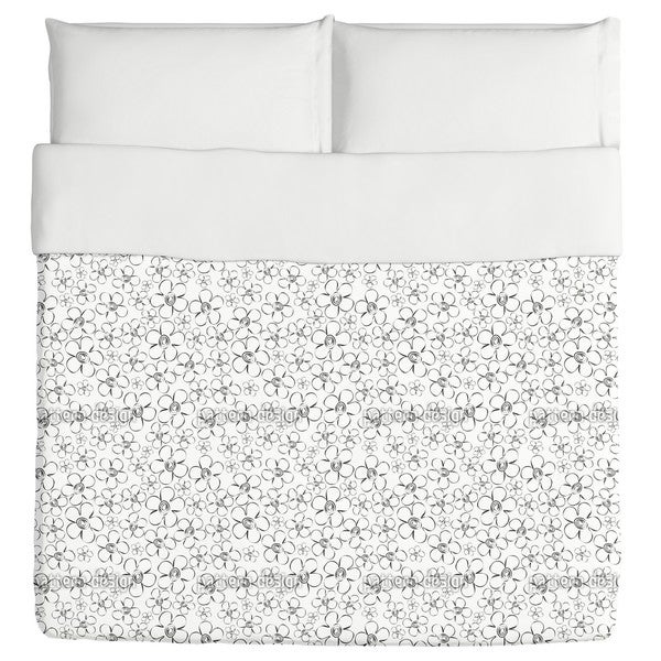 Flower Sketches Duvet