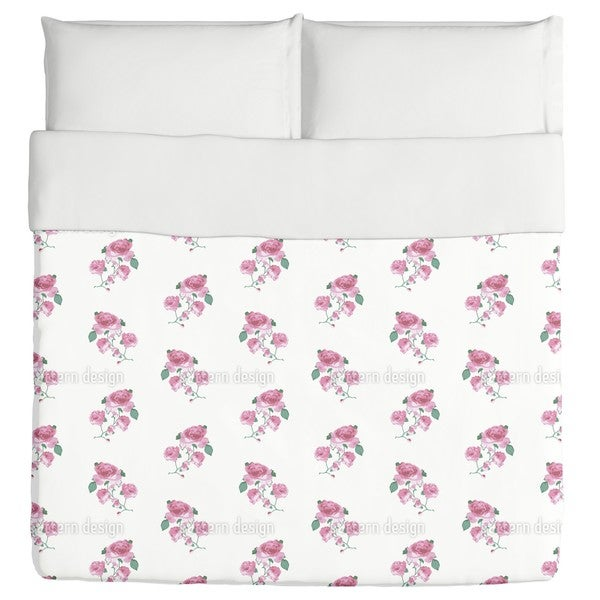 English Tea Roses Duvet