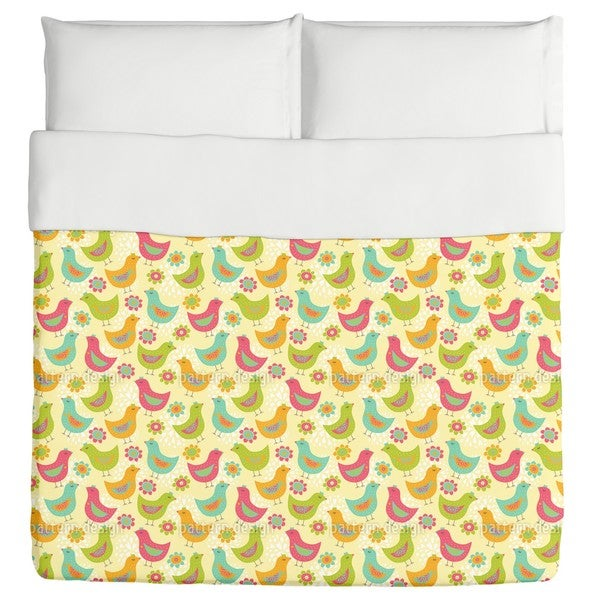 The Happy Chicken Duvet