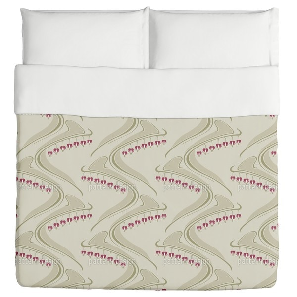 Heart Shaped Beige Duvet