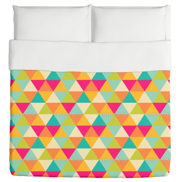 Triangles Duvet
