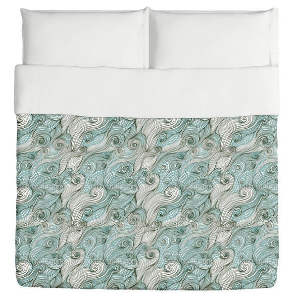 God of the Ocean Duvet