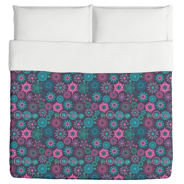 The Flowers of Pandora Duvet
