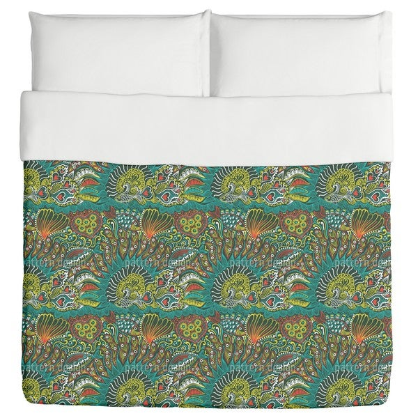 Reef Garden of the Ocean King Duvet