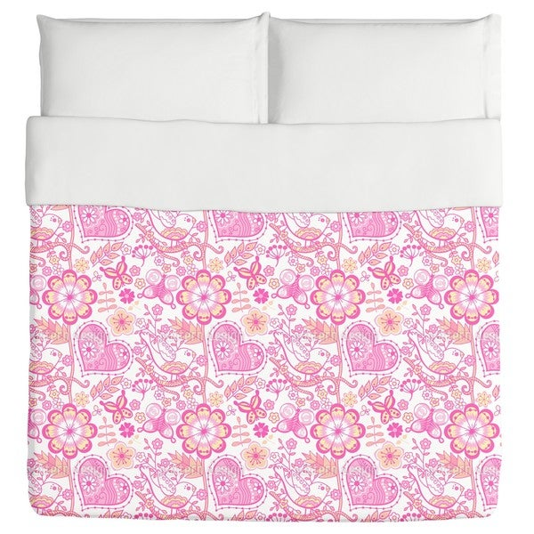 Garden of Sweet Romance Duvet