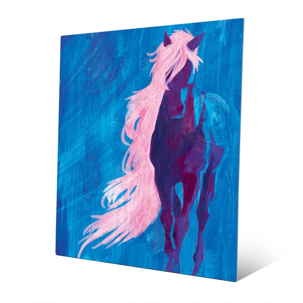 Crazy Horse' Metal Abstract Wall Art