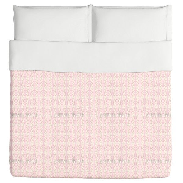 Strawberry On Striped Baroque Duvet