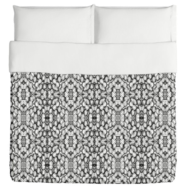 Black And White Pop Duvet