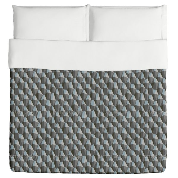 Geometric Steep Uphill Duvet