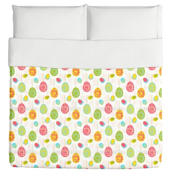Renaissance of the Easter Eggs Duvet
