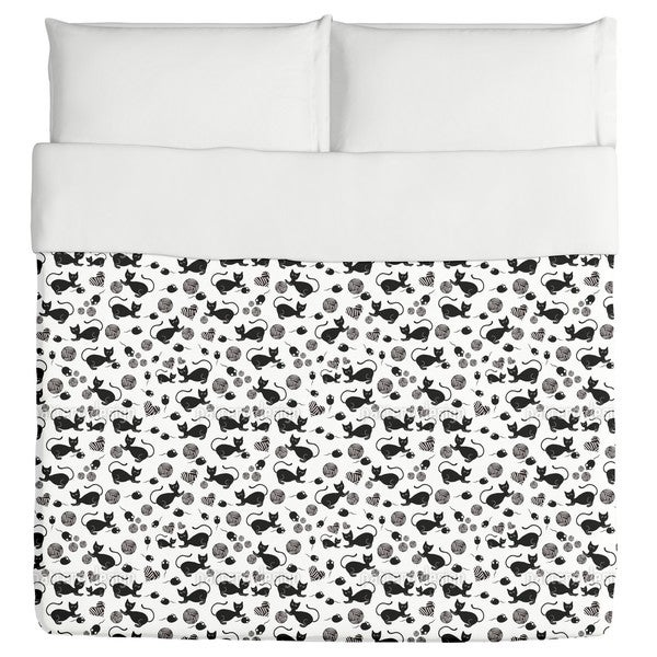 The Black Cat Mousy Duvet