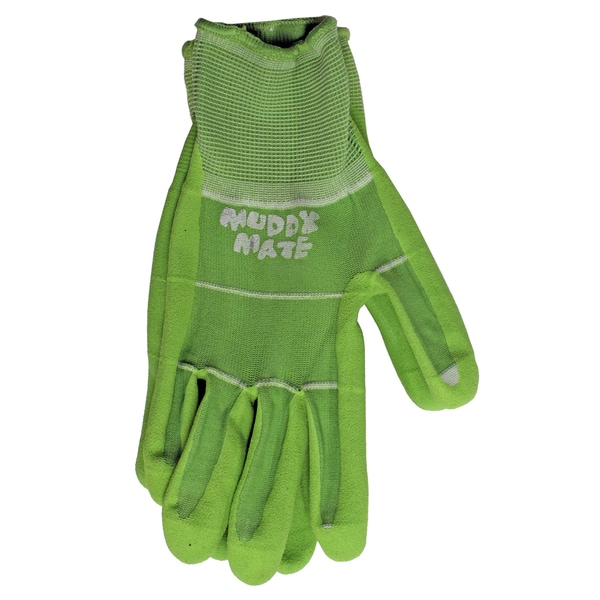 Boss Gloves 9404GM Medium Green Nitrile Palm Garden Gloves