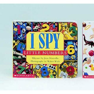 I Spy Little Numbers (Board book)