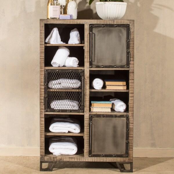 Hillsdale Furniture Bridgewater 3-door 3-shelf Display Curio