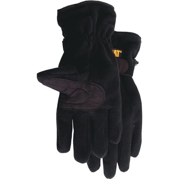 Cat Gloves CAT016201L Large Black Anti-Pill Fleece Gloves