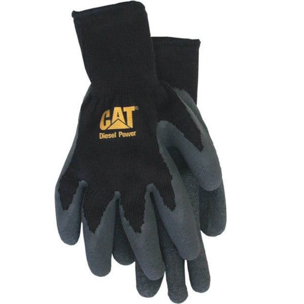 Cat Gloves CAT017400J Cotton Latex Coated Palm Gloves