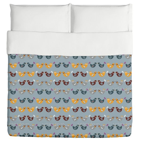 Bird Wedding Duvet